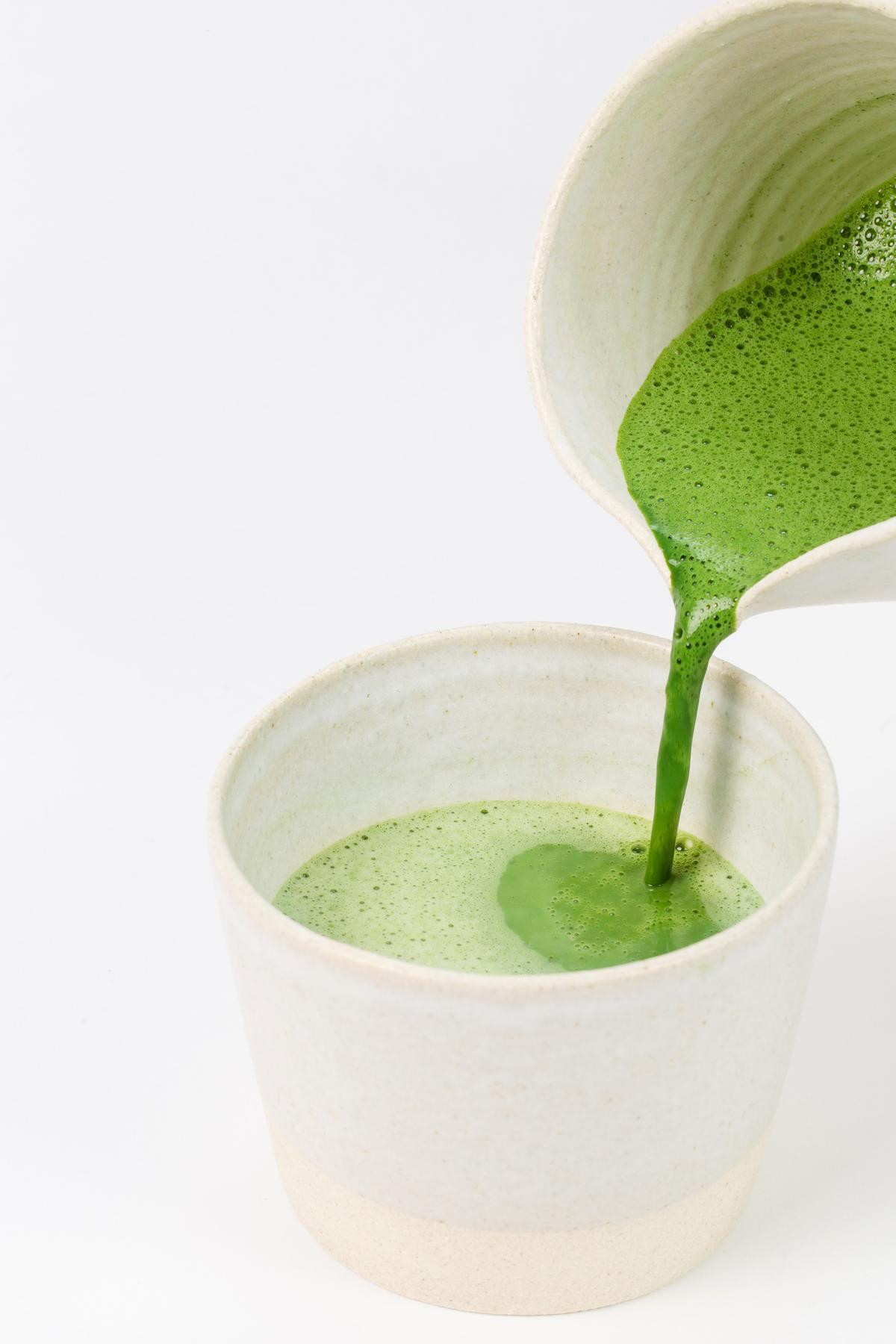 Recette de jus vert monodière