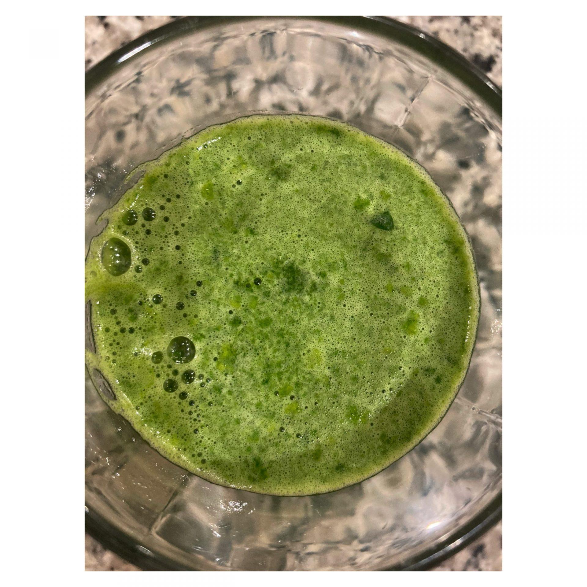 Recette de jus vert monodiète